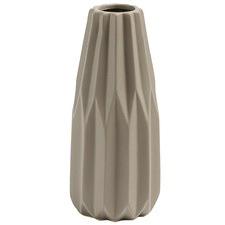 Light Brown Vali Ceramic Vase