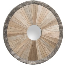 Libbie Round Wall Mirror