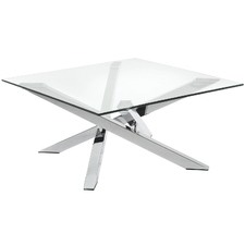 Clear Tobi Glass Side Table
