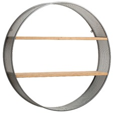 Round Felton Wall Shelf Unit