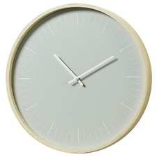 Elspeth Wood Wall Clock