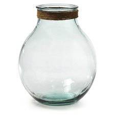 Clear Freyja Glass Vase