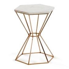 Wynne Hexagonal Side Table