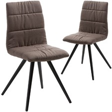 Paphos Upholstered Dining Chairs (Set of 2)