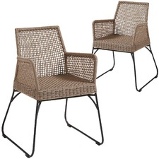 Pascal Rope Outdoor Armchairs (Set of 2)