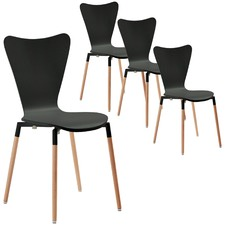 Modern Piper Dining Chairs (Set of 4)