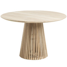Darla Round Teak Wood Dining Table