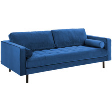 Lincoln Velvet 2 Seater Sofa