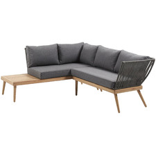 Grey Agnetha Outdoor Corner Sofa