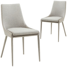 Kerrie Fabric Dining Chair (Set of 2)