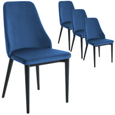 Elian Velvet Dining Chairs (Set of 4)