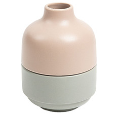 2 Piece Doris Stackable Ceramic Vase Set