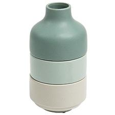3 Piece Doris Stackable Ceramic Vase Set