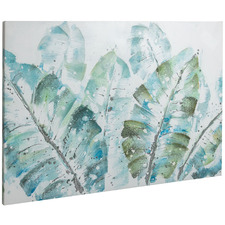 Paradise Stretched Canvas Wall Art