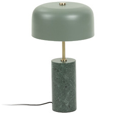 Green Amalie Metal Table Lamp