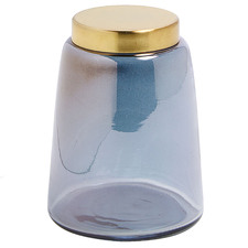 Lonnie Glass Canister with Lid
