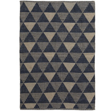 Blue & Brown Hope Outdoor Rug