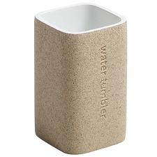 Beige Tanya Bathroom Cup