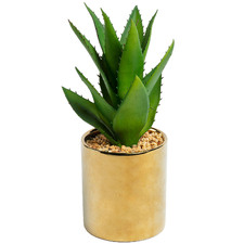 11cm Potted Faux Agave Plant
