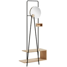 Alexander Clothes Hall Stand with Shelves