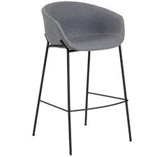 65cm Vanya Wool-Blend Barstool
