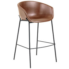65cm Vanya Faux Leather Barstool