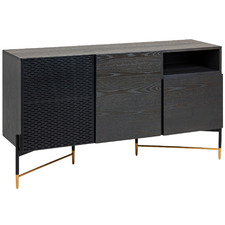 Charcoal Shelia Sideboard