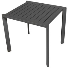 Anthracite Trosa Aluminium Outdoor Side Table