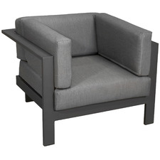 Anthracite Trosa Fabric Outdoor Armchair