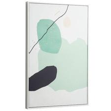 Moss Framed Canvas Wall Art