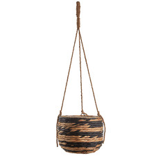 Natural Adhara Water Hyacinth Hanging Planter