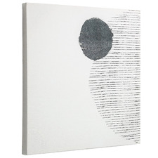 Full Moon Stretched Canvas Wall Art