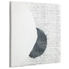 Half Moon Stretched Canvas Wall Art