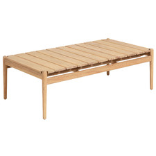 Natural Yanah Eucalyptus Wood Coffee Table