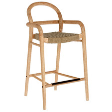 Desmona Wooden Outdoor Barstool