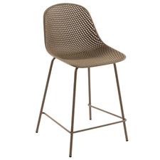 65cm Gertrude Metal & Plastic Outdoor Barstool