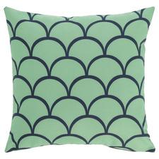 Mint Green Fawzi Cotton Cushion