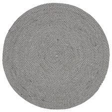 Grey Rodney Flat Weave Round Outdoor Rug