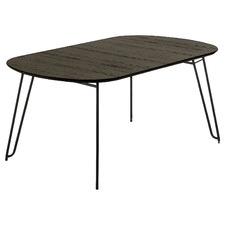 Black Sigfrid Extendable Dining Table