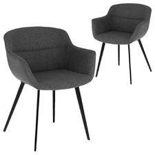 Christelle Upholstered Dining Chairs (Set of 2)