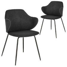 Emmett Upholstered Dining Chairs (Set of 2)