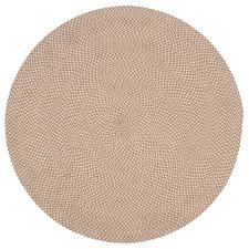 Beige Rodney Flat Weave Round Outdoor Rug