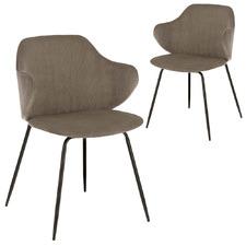 Emmett Velveteen Dining Chairs (Set of 2)