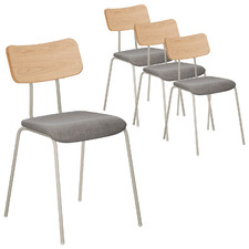 Sylvaine Cushioned Dining Chairs (Set of 4)