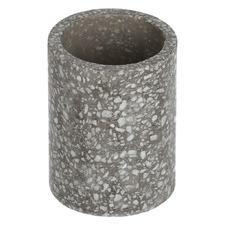 Grey Ammiel Terrazzo Bathroom Cup