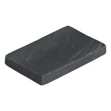 Black Lynne Marble Soap Dish