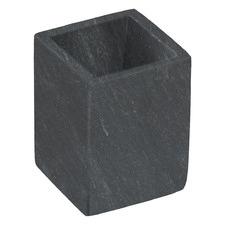 Black Lynne Marble Bathroom Cup
