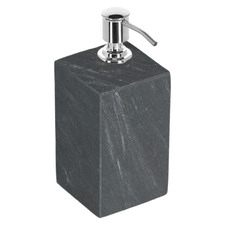 Black Lynne Marble Soap Dispenser