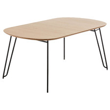 Ariel Oval Extendable Dining Table