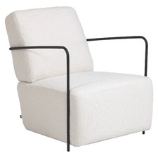 White Elia Occasional Chair